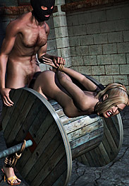 3D Bdsm Marzello - I hope a sound whipping after this fuck gives you some insight into why you're here
