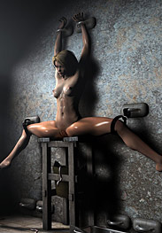 3D Bdsm Tryten - she's doubly perverse and requires brutal whippings to remove all this wickedness from her lustful body