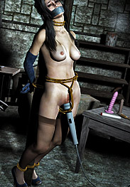 3D Bdsm Marzello - all over my damp clit and then onto my shithole