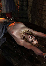 The ordeal of Anne Heskew - The girl jerked and screamed by Quoom 2015